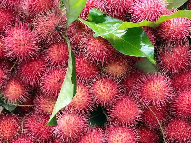 Rambutan is a fruit in Sri Lanka