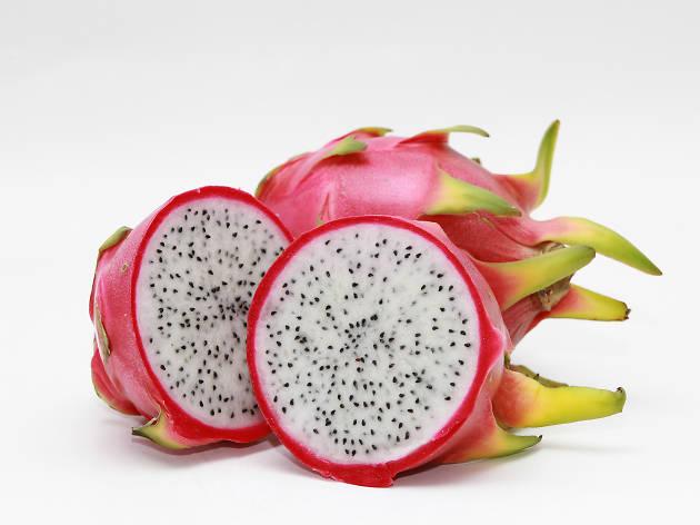 Dragonfruit is a fruit in Sri Lanka