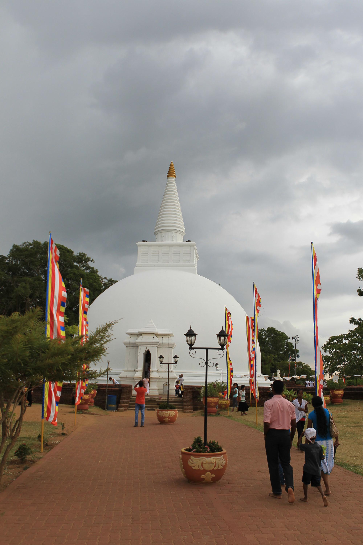 A temple Dagaba