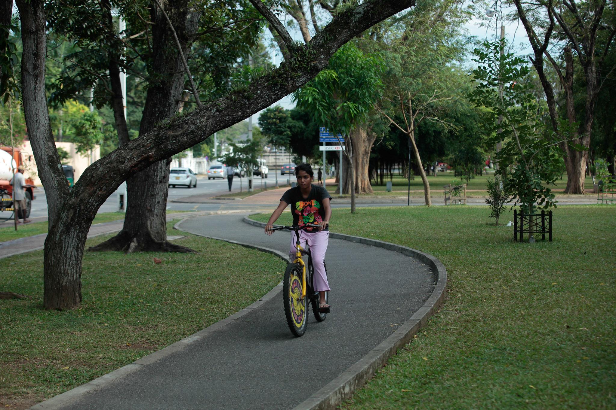 Jogging tracks in Colombo