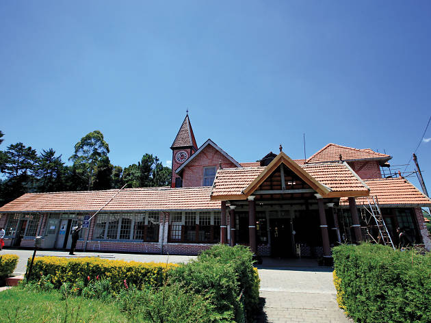 The Post Office in Nuwara Eliya