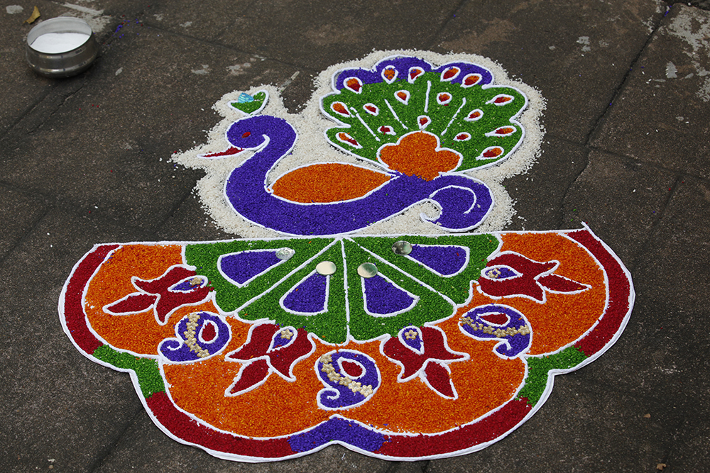 Kolam in Sri Lanka