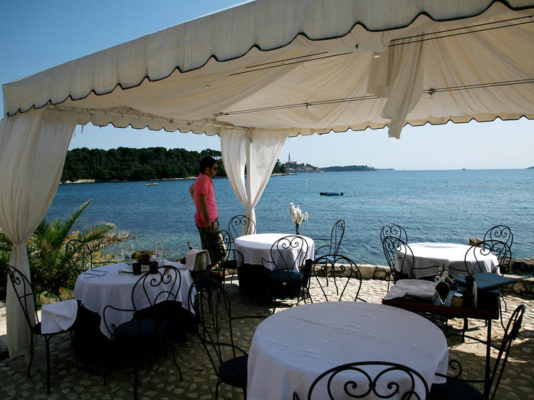 Eating and drinking in Rovinj