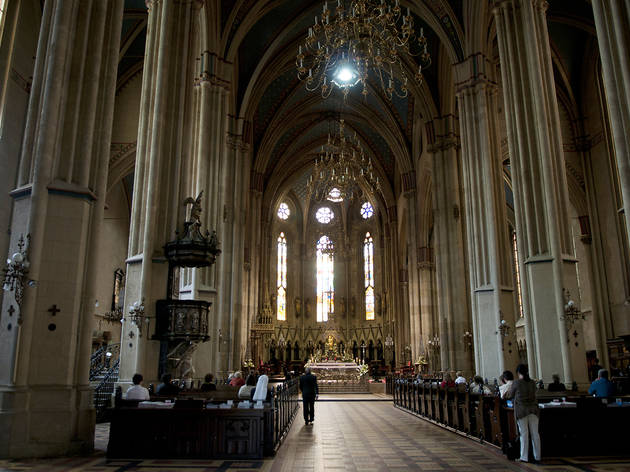 Zagreb Cathedral Attractions In Kaptol Croatia