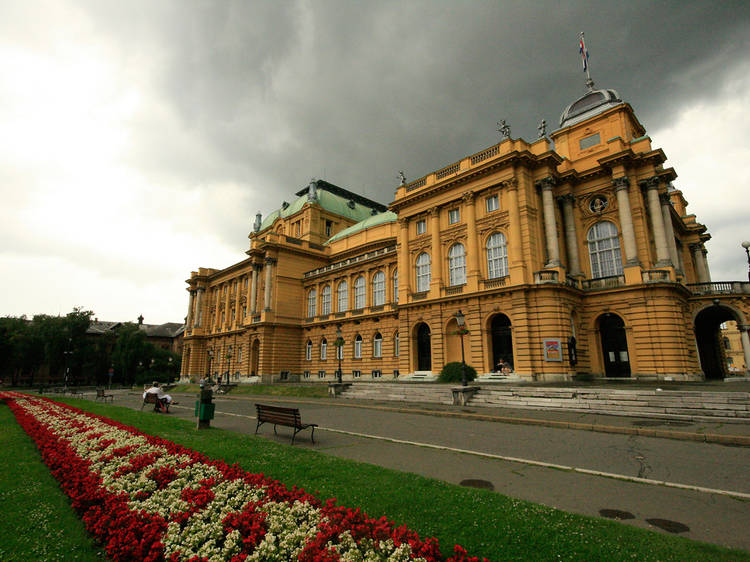 Croatian National Theatre • Zagreb