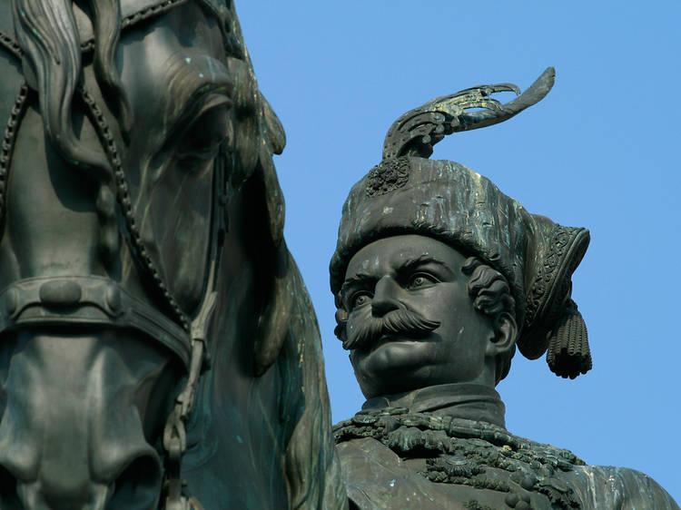 Ban Josip Jelačić square, central Zagreb