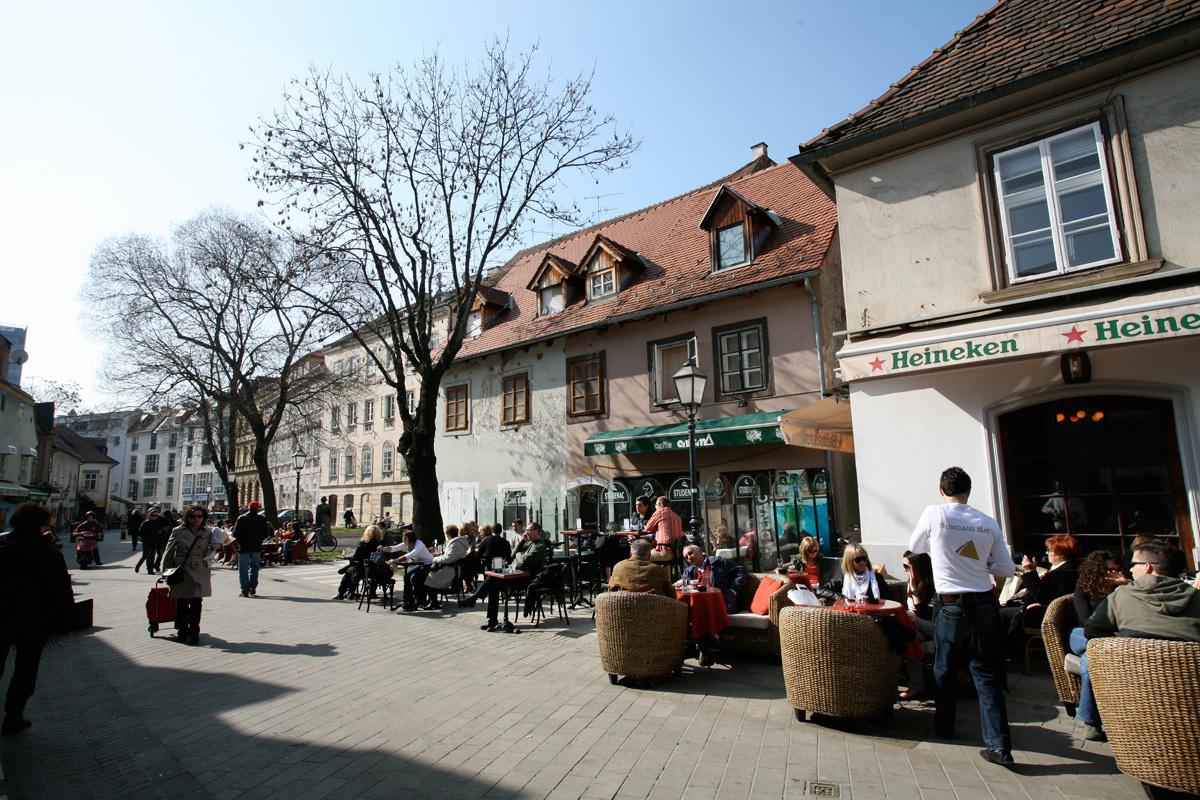 Tkalčićeva street, Zagreb