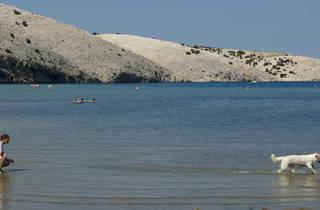 Lopar beach, Rab