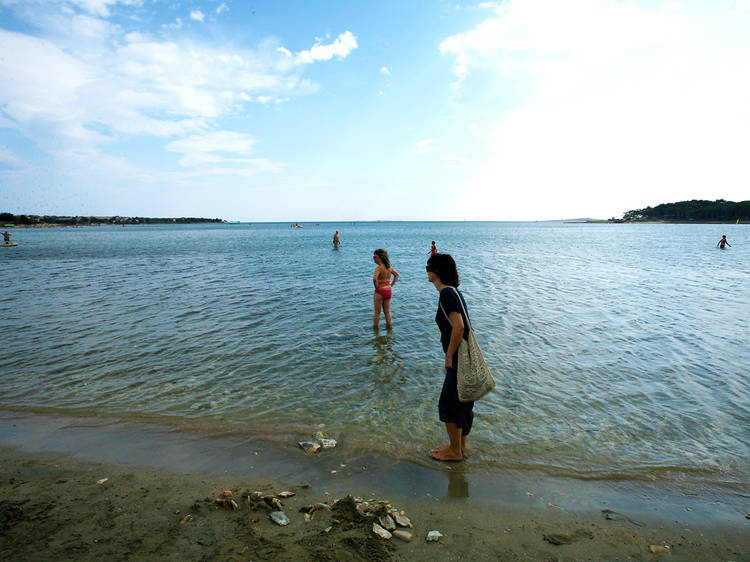 Hit the water at Medulin