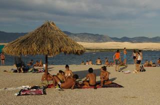 Zrće beach, Pag