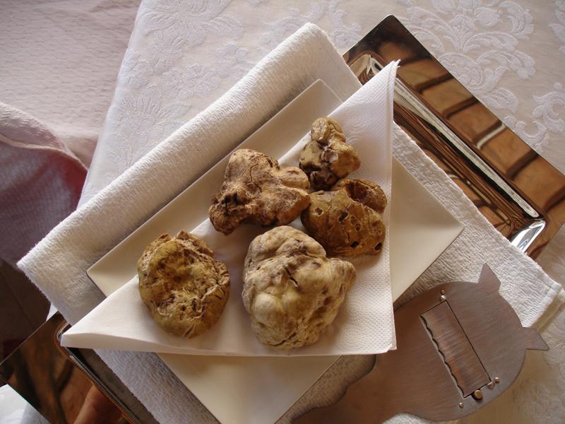 Truffles at Zigante