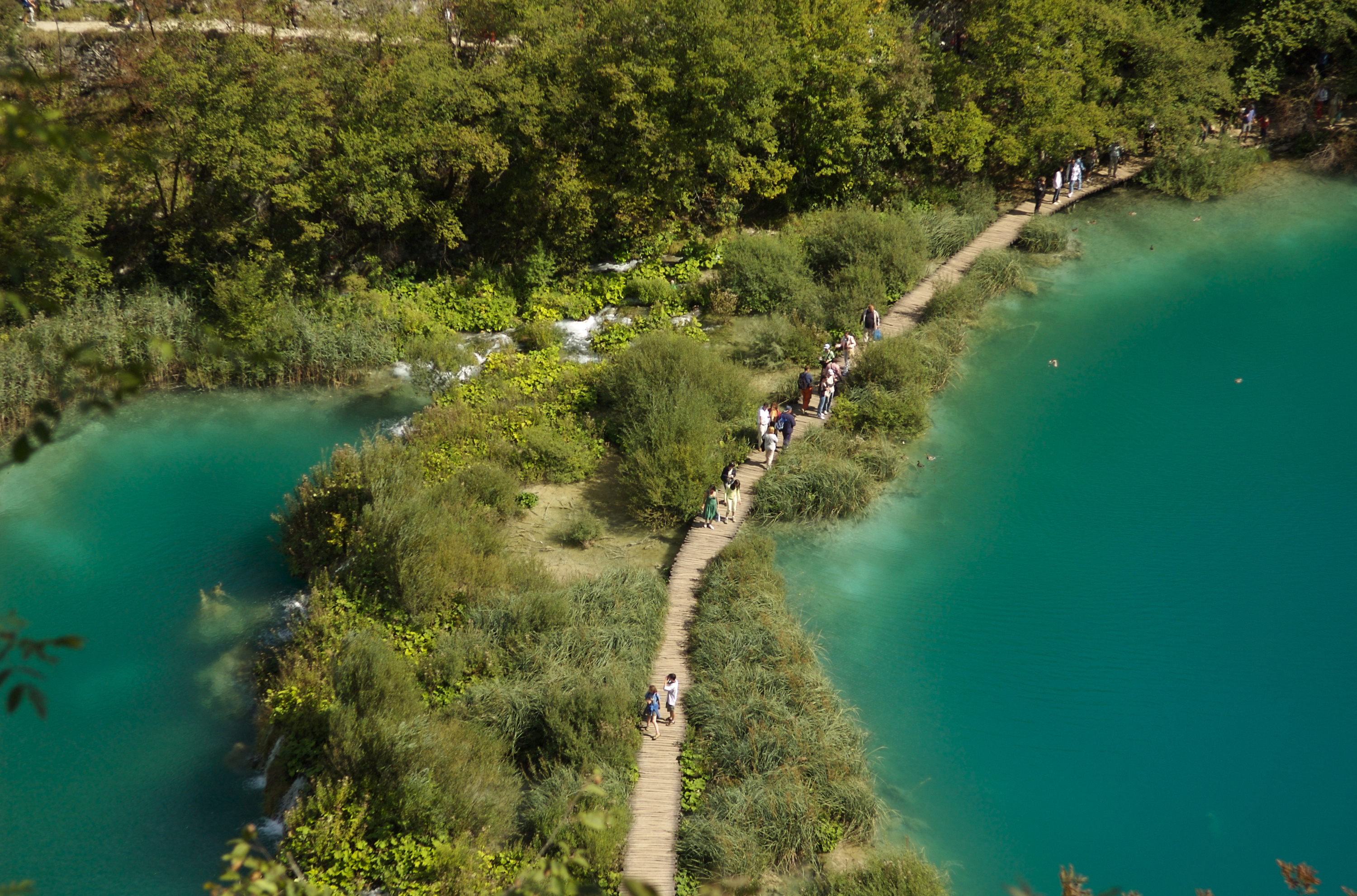 Gawp at Plitvice