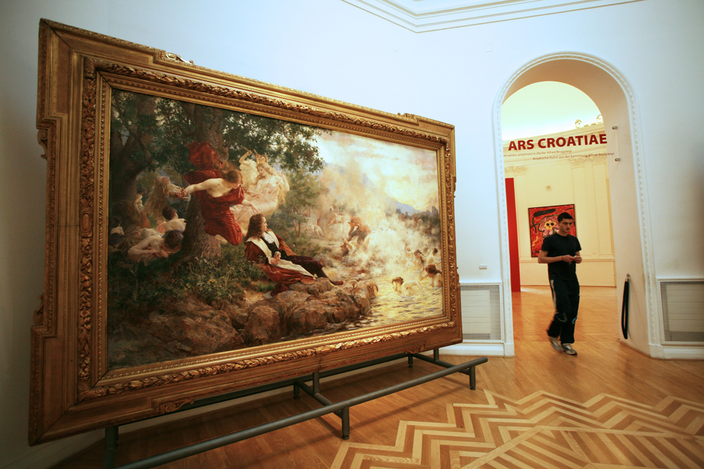 Moderna Galerija, art galleries, zagreb, croatia