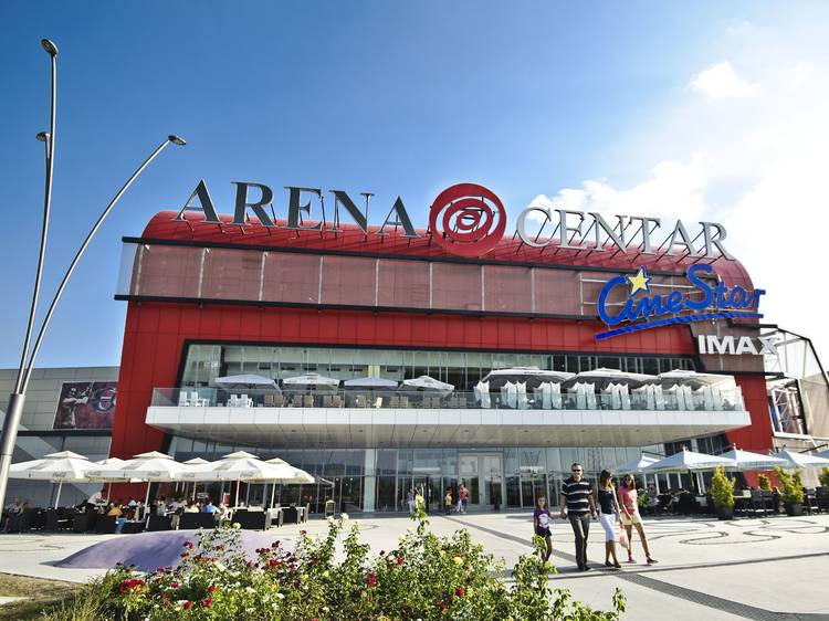 Arena Centar Zagreb the biggest (and one of the busiest) shopping malls in Croatia