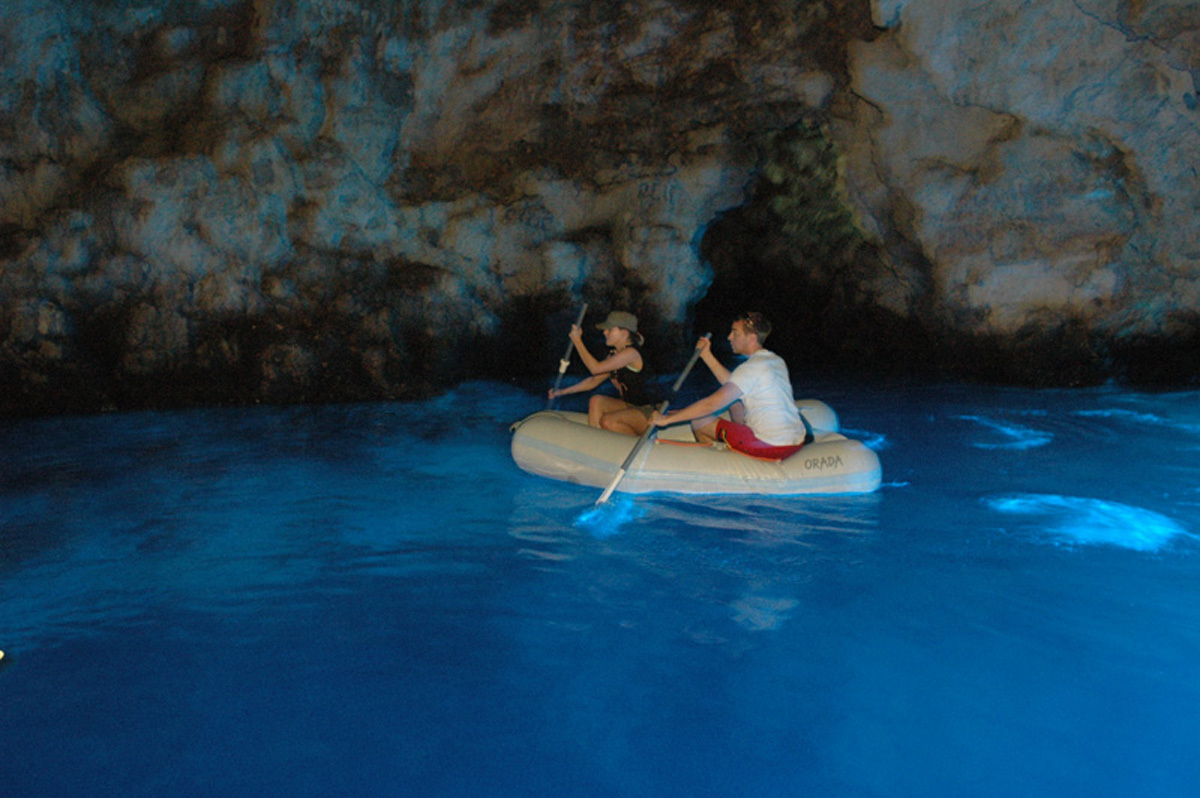 Experience the Blue Cave of Biševo