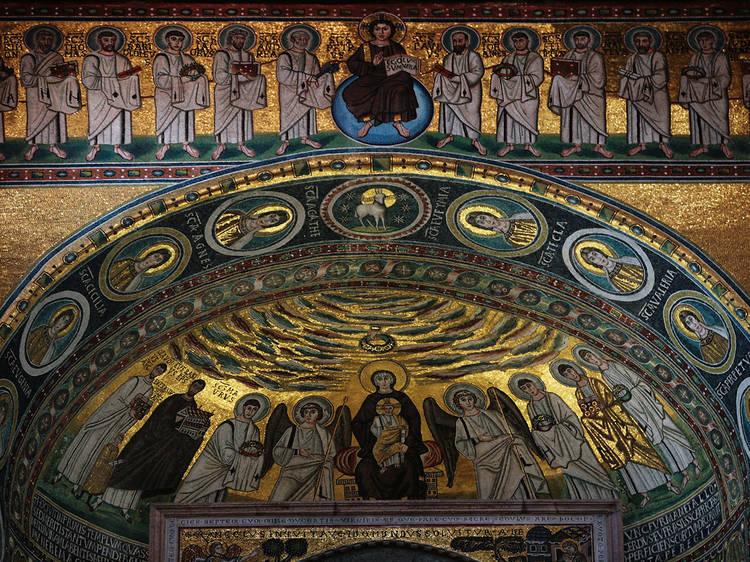 Marvel at Byzantine architecture