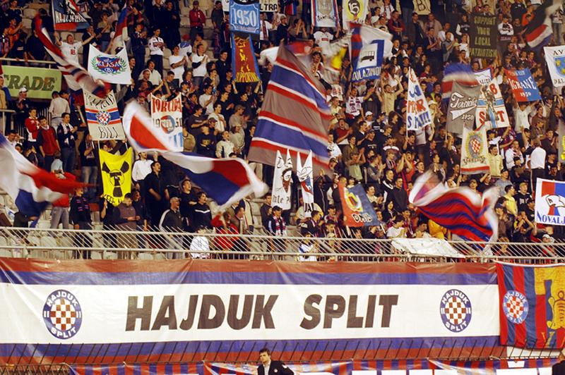Hajduk supporters, Split
