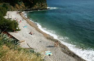 Komiža beach, Vis