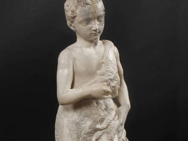 Young St John the Baptist. A Michelangelo sculpture in Spain