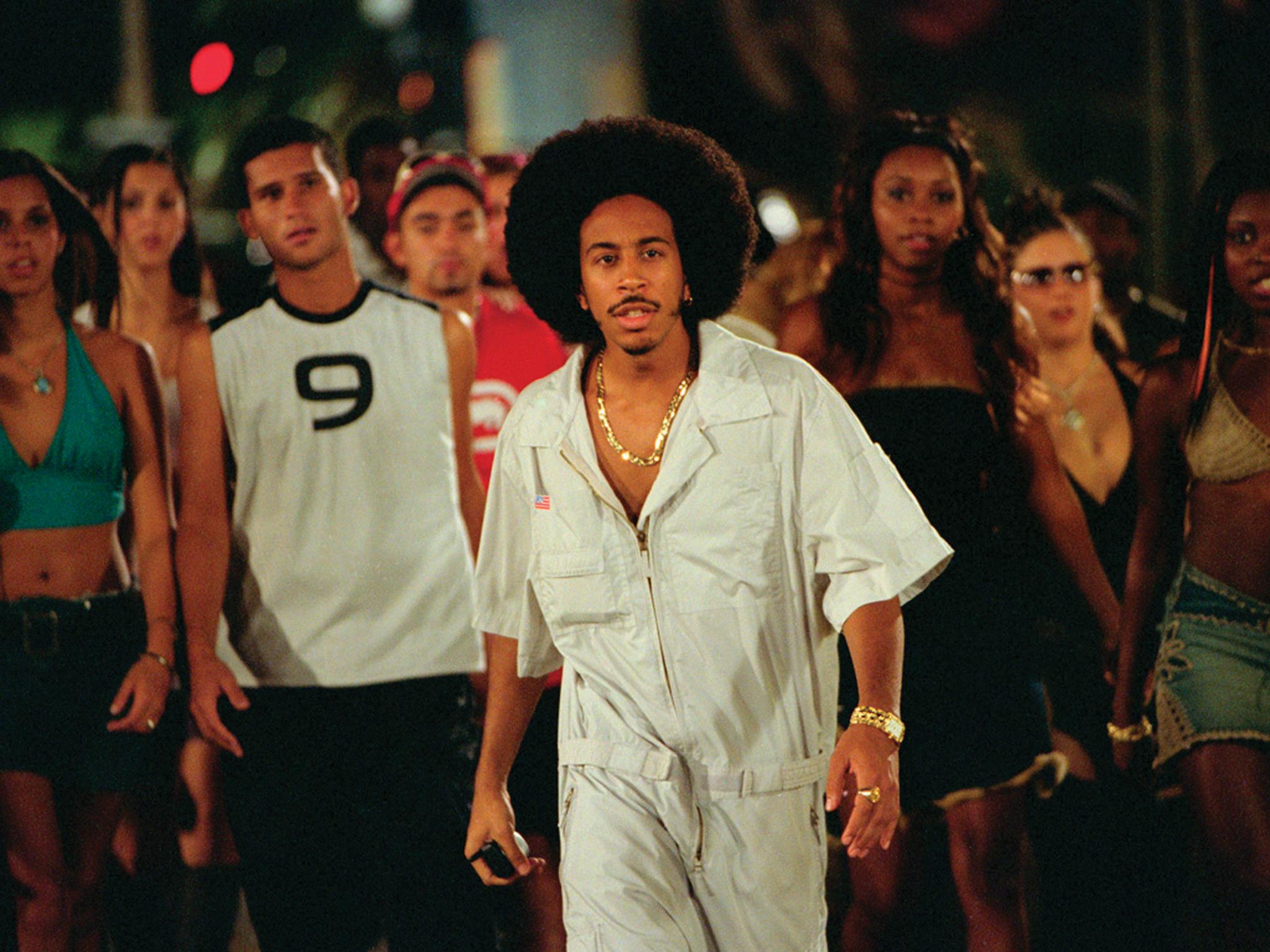 Ludacris's afro in '2 Fast, 2 Furious' (2003)