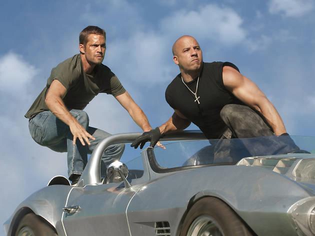 The train heist in 'Fast Five' (2011)