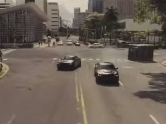 The safe chase in 'Fast Five' (2011)