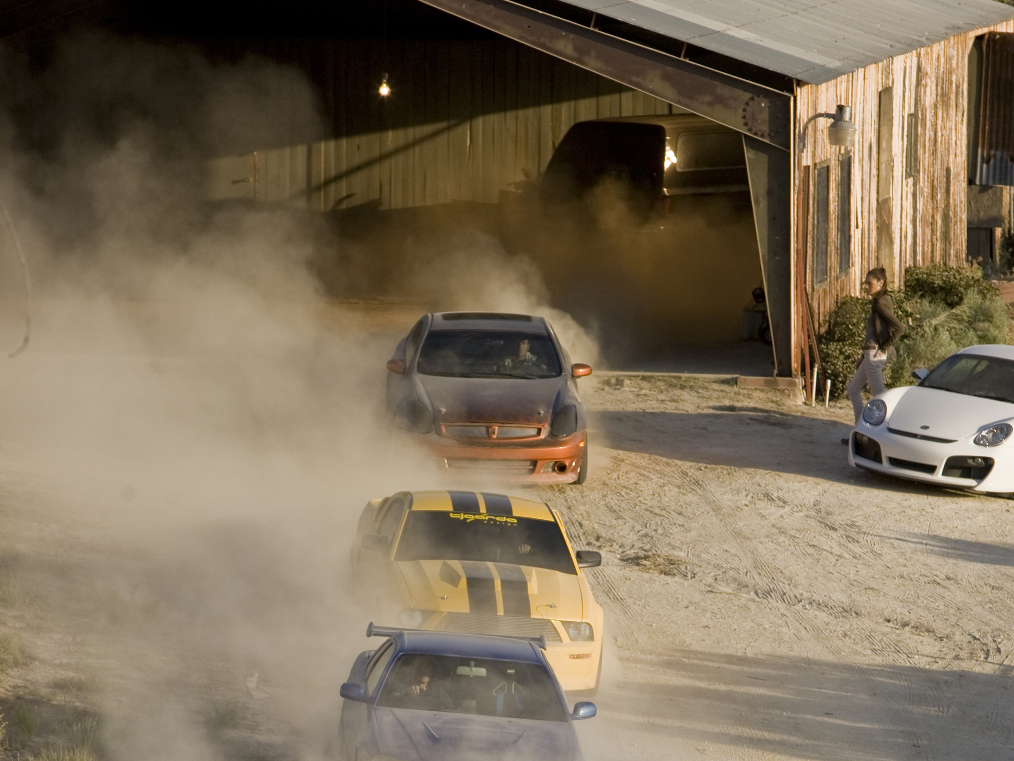 The mine chase from 'Fast & Furious' (2009)