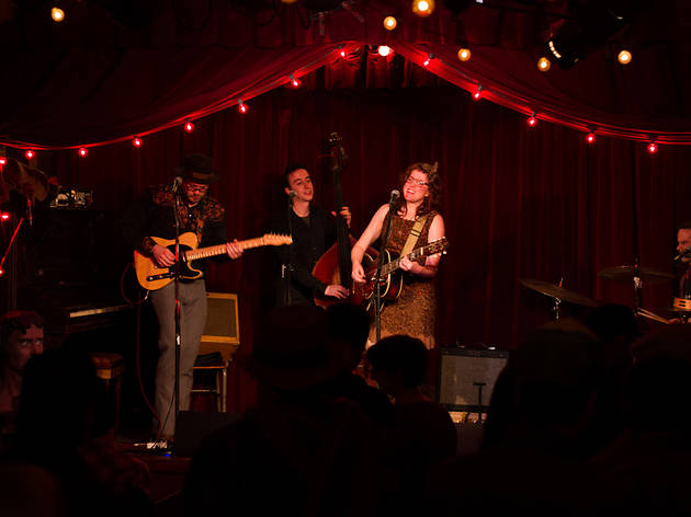 Miss Tess and the Talkbacks at the Jalopy Theatre