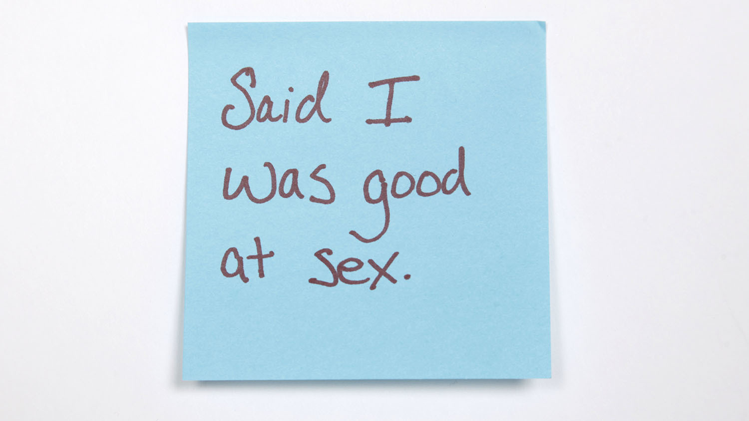 Sticky-note confessions: New Yorkers share the biggest lies they've told to impress a date