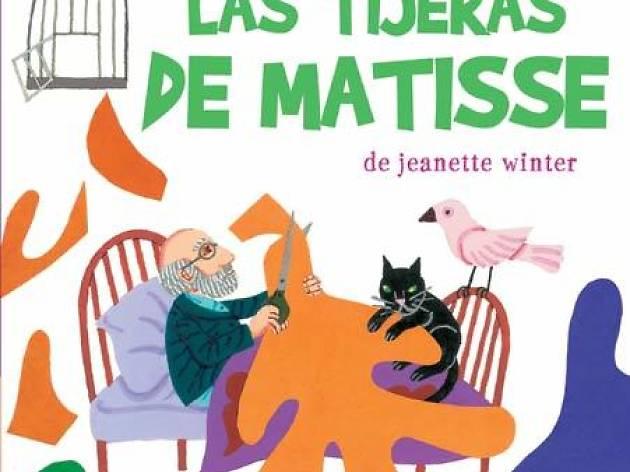 Las tijeras de Matisse, de Jeanette Winter