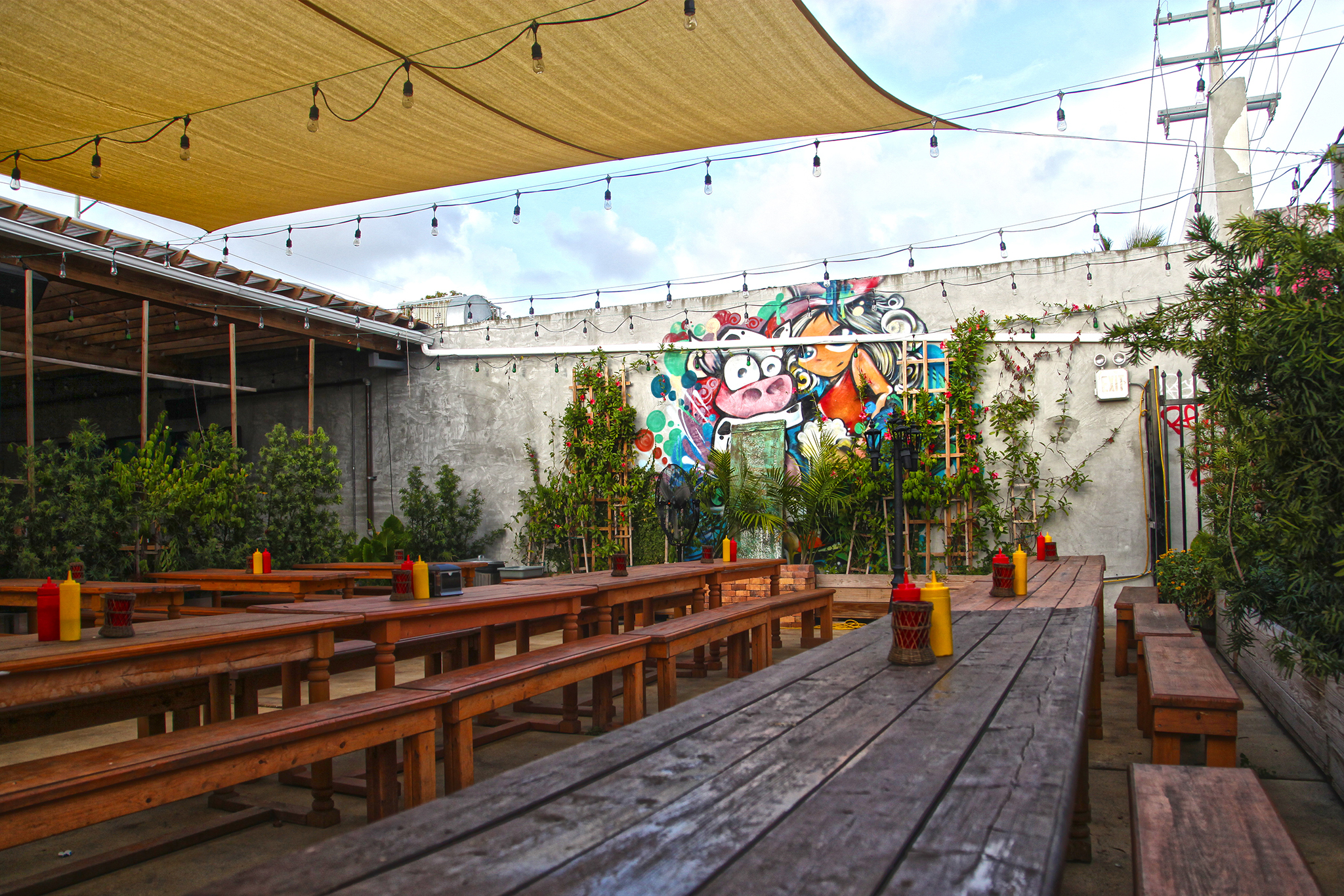 Drink craft beers in Wynwood