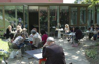 (Camden Arts Centre: garden and café. © Camden Arts Centre)