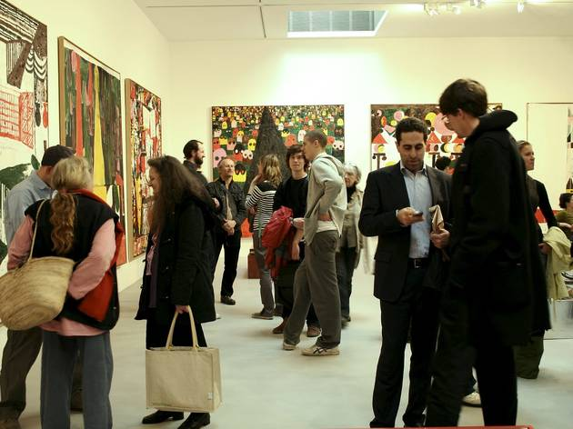 (Tal R exhibition at Camden Arts Centre, 2008. © Camden Arts Centre)