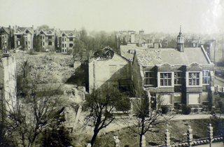 (Bomb damage during the Blitz: © Camden Arts Centre)