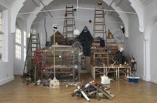 (Mike Nelson installation at Camden Arts Centre (1998, recreated 2010). © Camden Arts Centre)