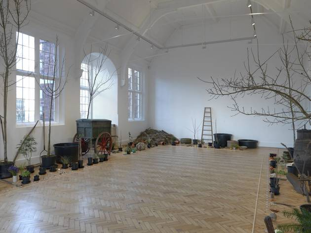 (Ruth Ewan installation at Camden Arts Centre, 2015. © Camden Arts Centre)
