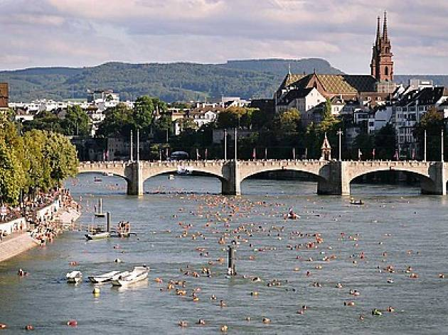 Basel Rhine swim