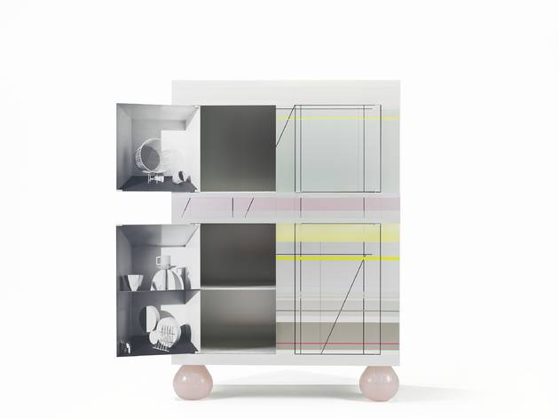 Cabinet Amsterdam Armoire (© in conjunction with Zuiderzee museum, Scholten & Baijings/CNAP/visuel des artistes )