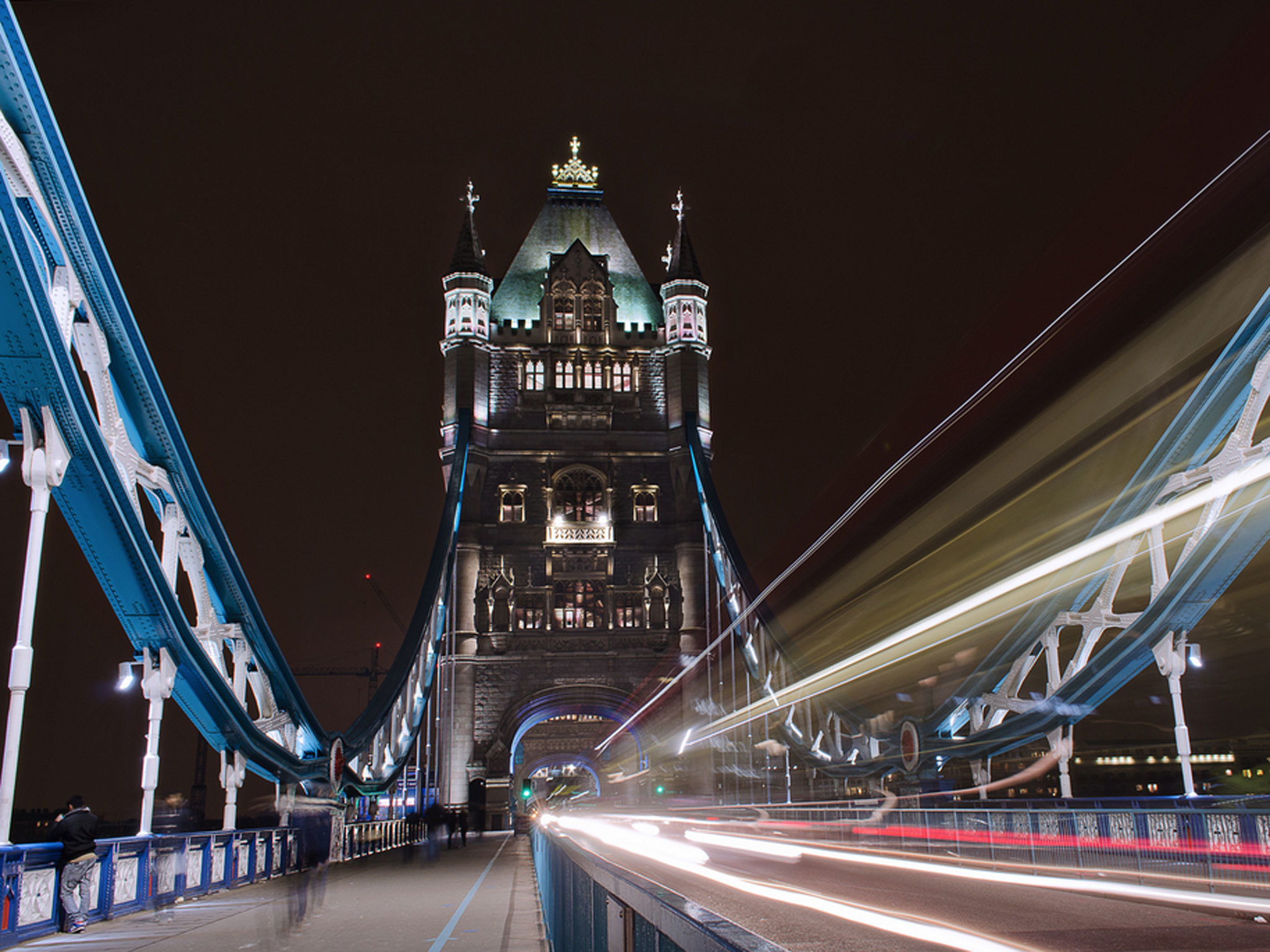 Tower Bridge and trail