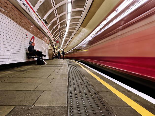Notting Hill Gate underground