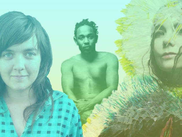 Kendrick Lamar, Björk and Courtney Barnett have delivered some of the best albums of 2015 so far.