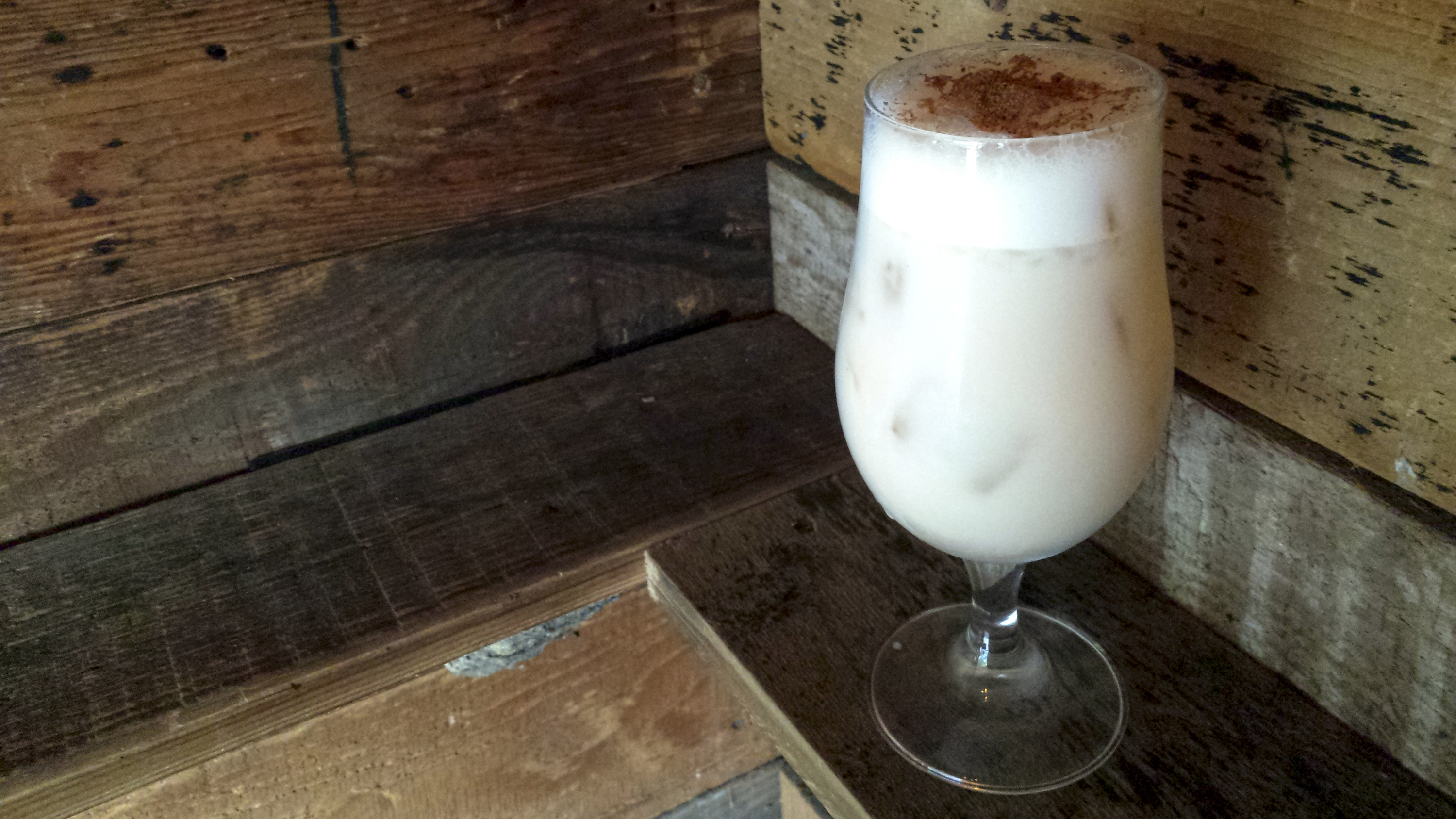 Cereal Milk Punch at Bigfoot Lodge