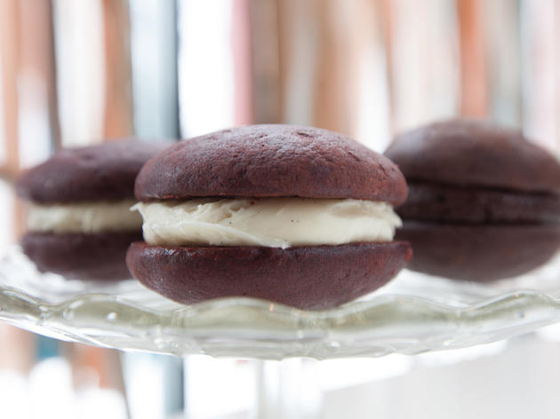 Whoopie Pie at Lovely: A Bake Shop.