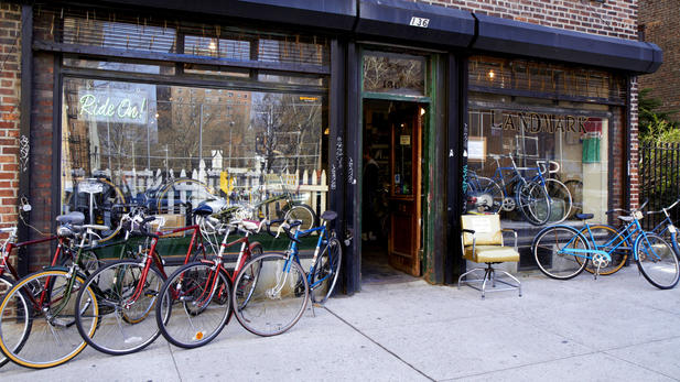 Bikes Shops In Brooklyn Landmark Vintage Bicycles