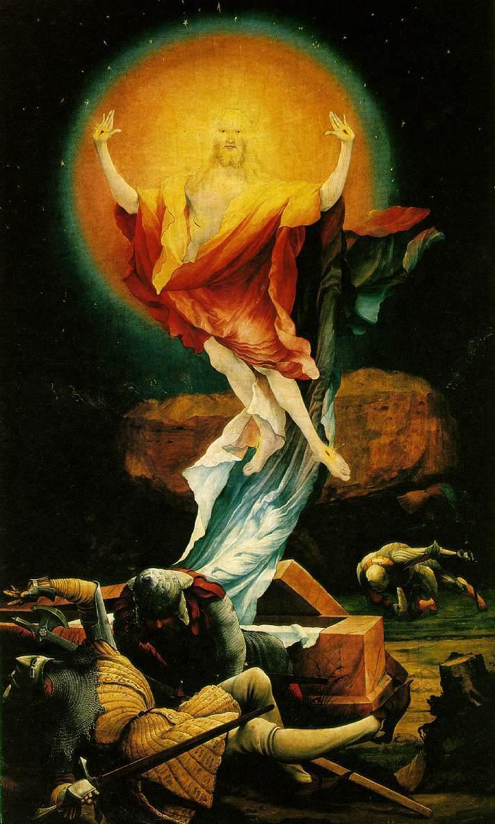 Christ Résurrection Grünewald