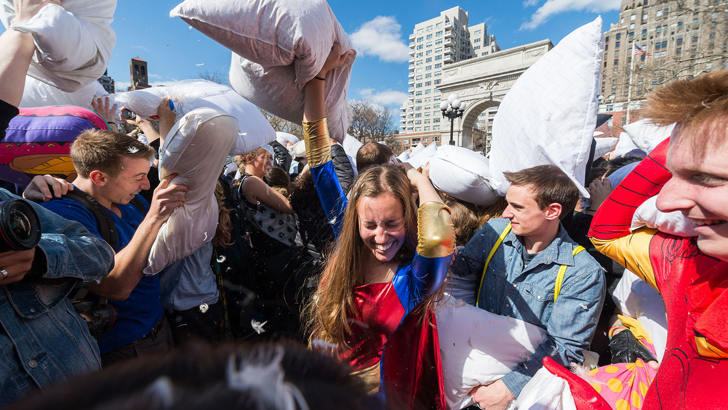 The Pillow Fight NYC guide
