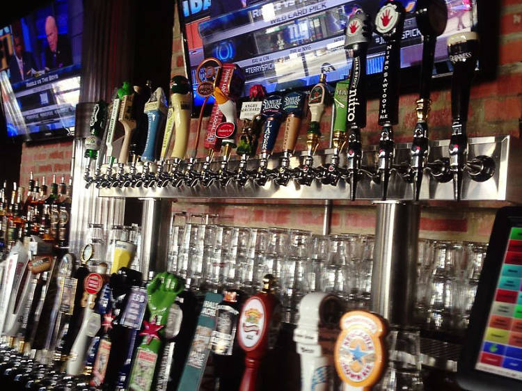 The pizza joint: Golden Crust Pizzeria & Tap
