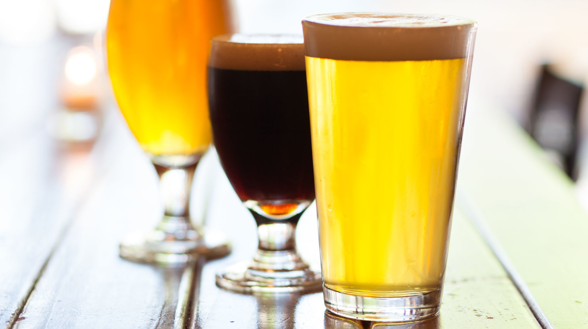 Unexpected spots for great craft beer
