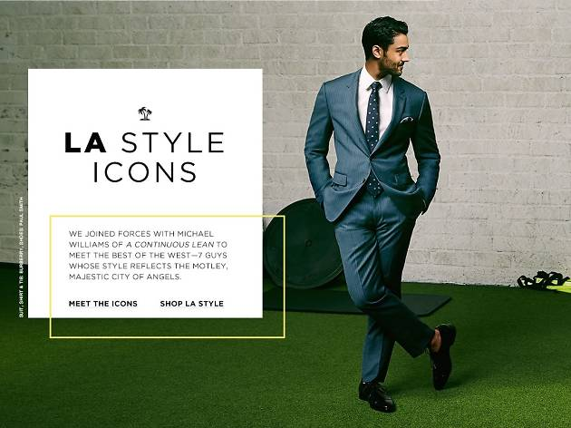 Bloomingdale's Celebrates Men's Style Icons in L.A.