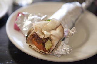 Falafel at Skaf's Grill